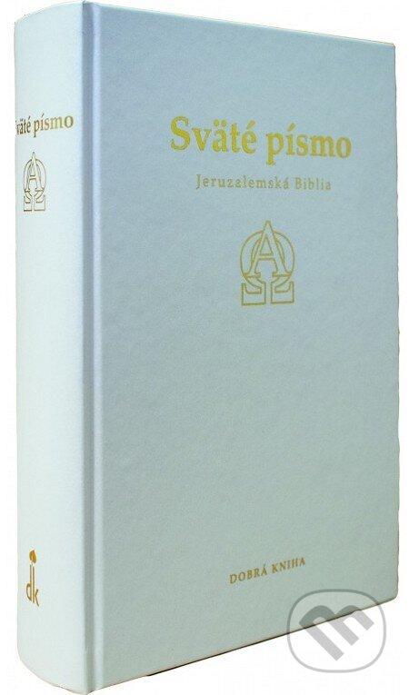 Sväté písmo - Jeruzalemská Biblia (biele darčekové vydanie so zlatoorezom) -