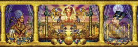 Egyptian triptych -