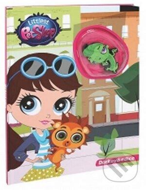 Littlest Pet Shop s hračkou -