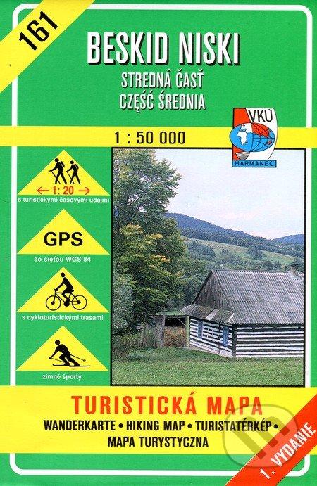 Beskid Niski 1:50 - turistická mapa 161 -