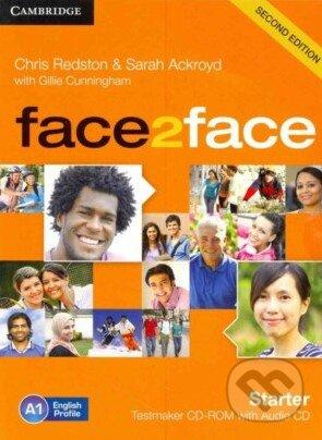 Face2Face: Starter -Testmaker CD-ROM and Audio CD - Chris Redston, Sarah Ackroyd, Gillie Cunningham