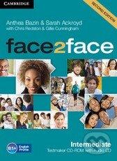 Face2Face: Intermediate - Testmaker CD-ROM and Audio CD - Anthea Bazin, Sarah Ackroyd, Chris Redston, Gillie Cunningham