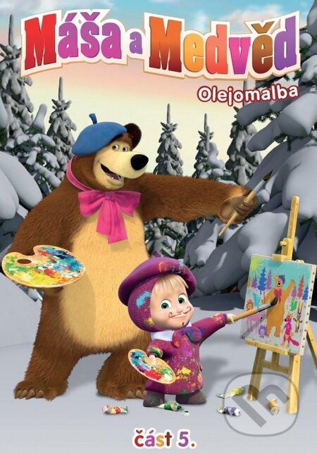 Máša a medvěd 5. DVD