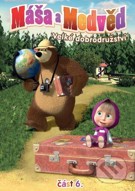Máša a medvěd 6. DVD