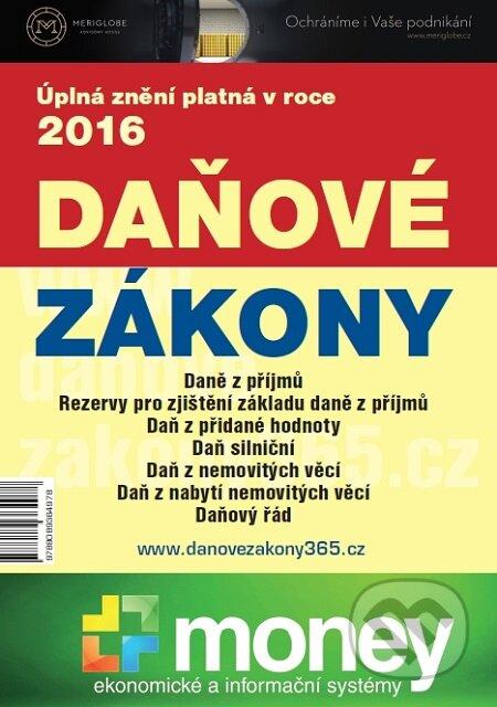 Daňové zákony 2016 XXL ProFi - Milan Halenka, Zdeněk Fryšák