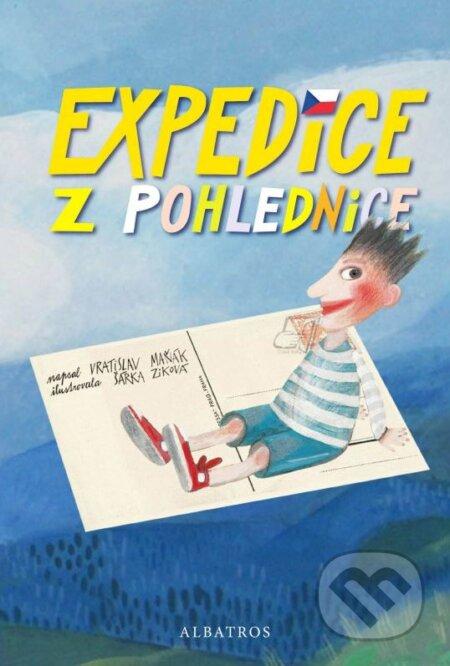 Expedice z pohlednice - Vratislav Maňák, Šárka Ziková (ilustrácie)