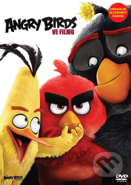 Angry Birds ve filmu DVD