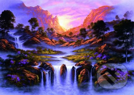 Dreamlike waterfall - Jon Rattenbury