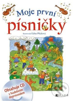 Moje první písničky - Edita Plicková (ilustrácie)