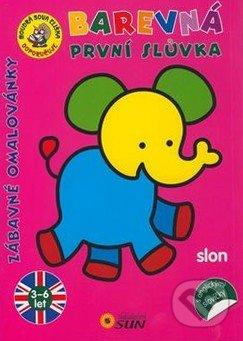 Barevná první slůvka - Slon -
