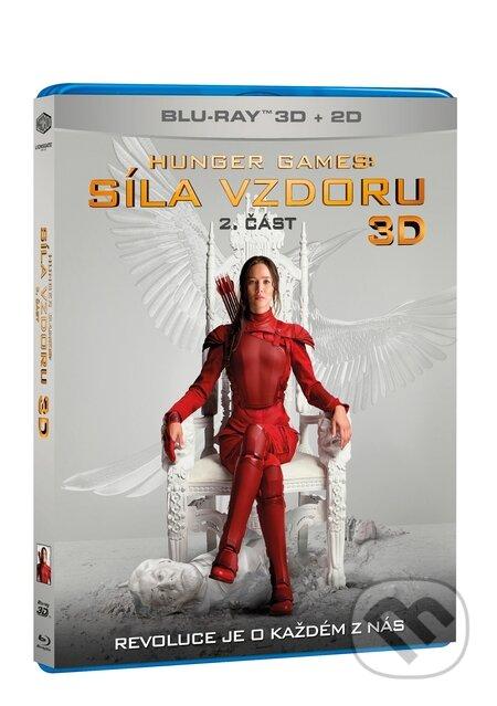 Hunger Games: Síla vzdoru 2. část 3D BLU-RAY3D