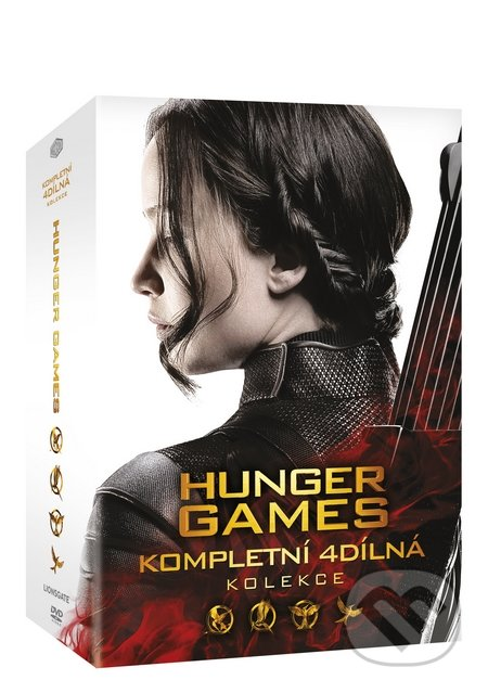 Hunger Games kolekce 1-4 DVD