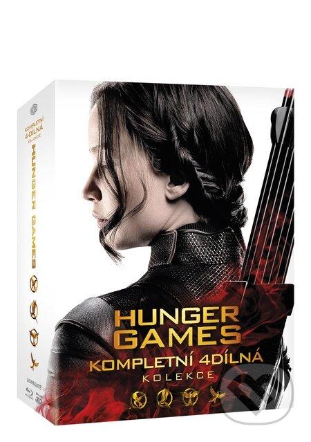 Hunger Games kolekce 1-4 BLU-RAY