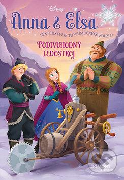 Anna a Elsa - Podivuhodný ledostroj -
