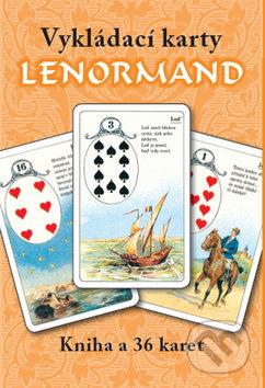 Lenormand vykládací karty - Erna Droesbeke von Enge