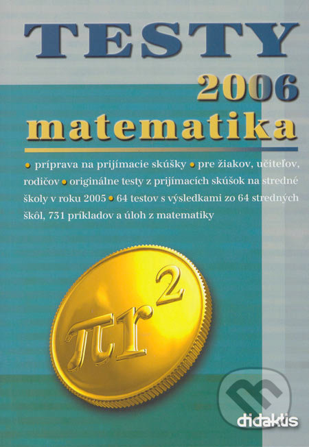 Testy 2006 matematika -