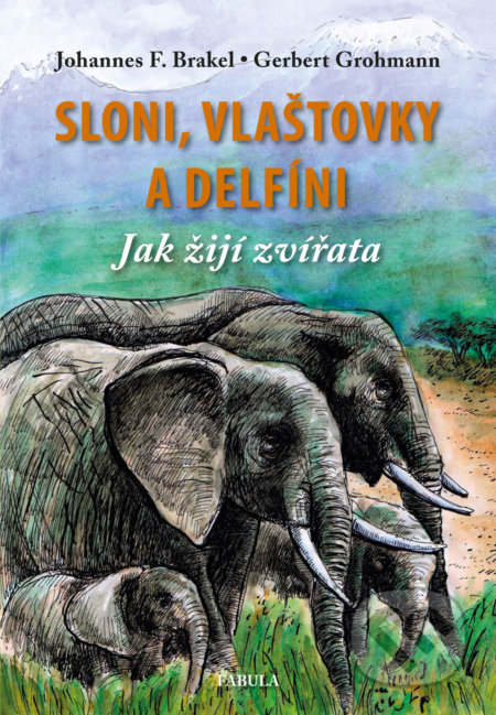 Sloni, vlaštovky a delfíni - Johannes F. Brakel, Gerbert Grohmann