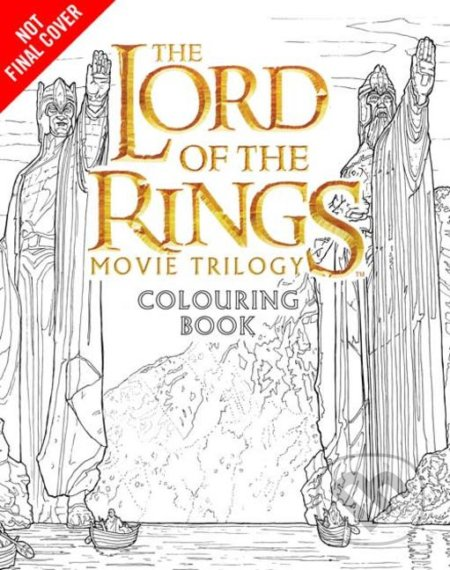 The Lord of the Rings Movie Trilogy Colouring Book -