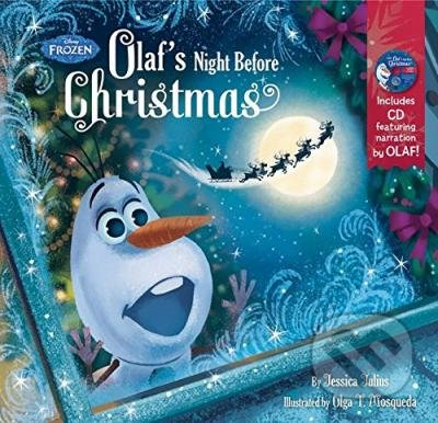 Frozen Olaf\'s Night Before Christmas - Jessica Julius