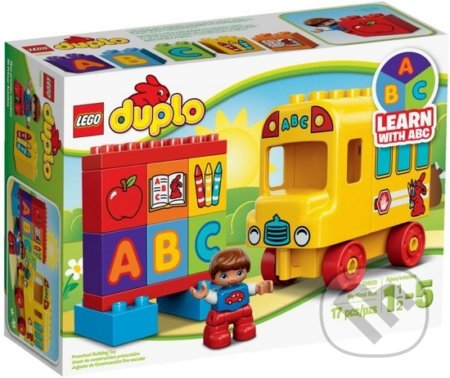 LEGO DUPLO Toddler 10603 Môj prvý autobus -