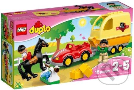 LEGO DUPLO Town 10807 Príves pre kone -