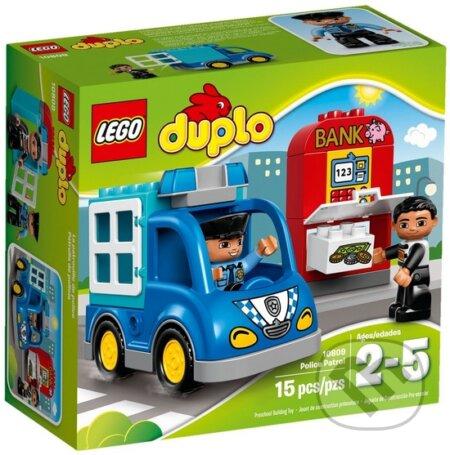 LEGO DUPLO Town 10809 Policajná hliadka -