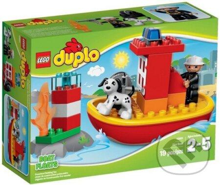 LEGO DUPLO Town 10591 Hasičský čln -