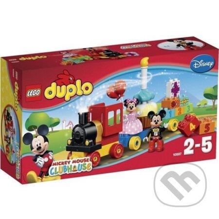 LEGO DUPLO Disney TM 10597 Prehliadka k narodeninám Mickeyho a Minnie -
