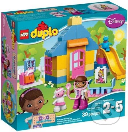 LEGO DUPLO Doc McStuffins 10606 Doktorka Plyšiaková: Ordinácia na dvorčeku -