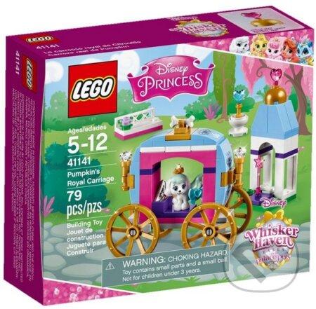 LEGO Disney Princezny 41141 Tekvicový kráľovský kočiar -