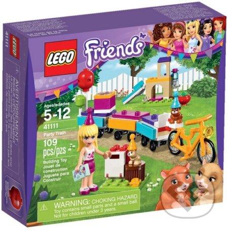 LEGO Friends 41111 Vlak na oslavy -
