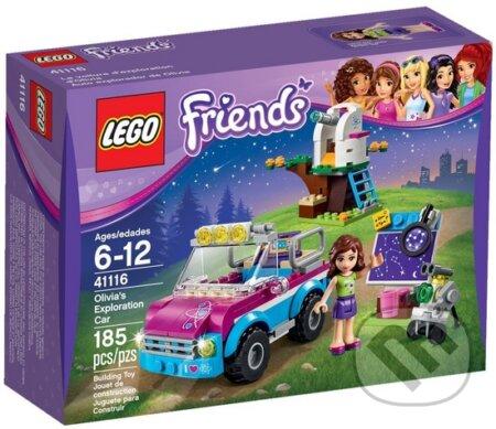LEGO Friends 41116 Olívia a jej prieskumné auto -