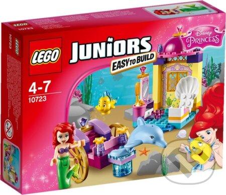 LEGO Juniors 10723 Disney Princess Arielin delfínom ťahaný kočiar -