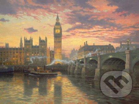 Večer v Londýne - Thomas Kinkade