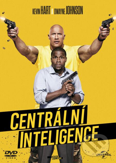 Centrální Inteligence DVD