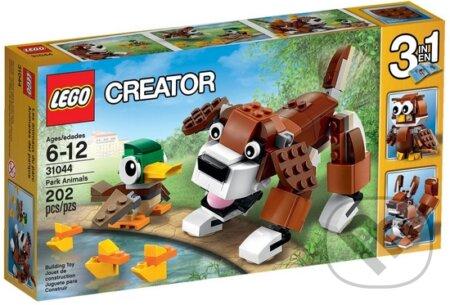 LEGO Creator 31044 Zvieratká z parku -