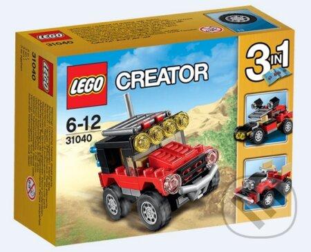 LEGO Creator 31040 Púštne pretekárske autá -