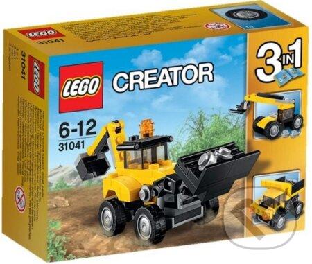 LEGO Creator 31041 Vozidlá na stavbe -