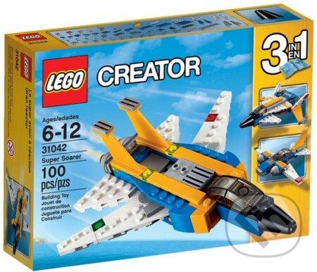 LEGO Creator 31042 Super stíhačka -