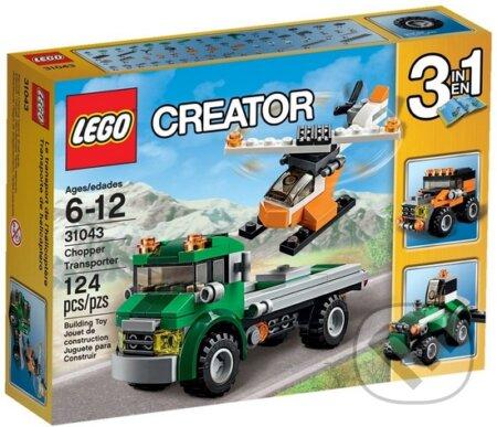 LEGO Creator 31043 Dopravný vrtuľník -
