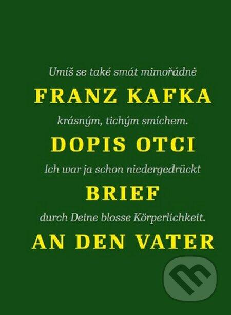 Dopis otci - Franz Kafka