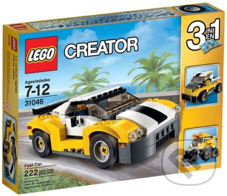 LEGO Creator 31046 Rýchle auto 19,99 EUR 540 Kč -