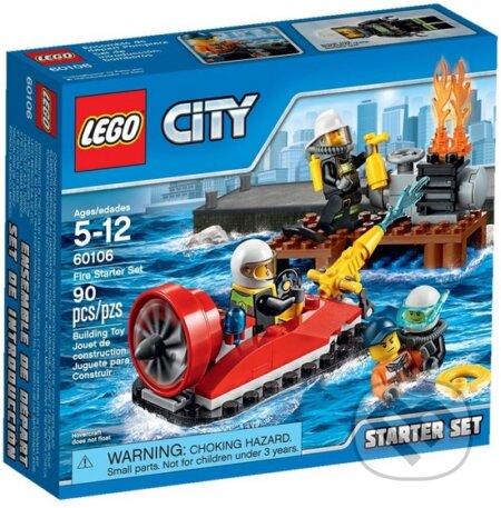 LEGO City Fire 60106 Hasiči – Štartovacia súprava -