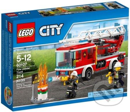 LEGO City Fire 60107 Hasičské auto s rebríkom -