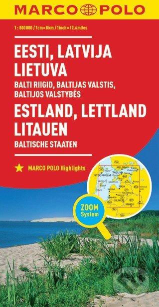 Estland, Lettland, Litauen / Eesti, Latvija, Lietuva -