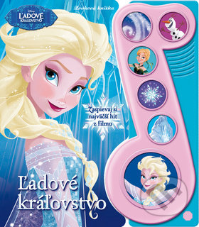 Ľadové kráľovstvo - Zvuková knižka -