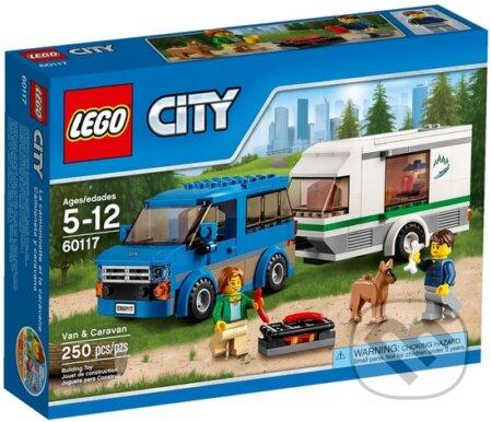 LEGO City Great Vehicles 60117 Dodávka a karavan -