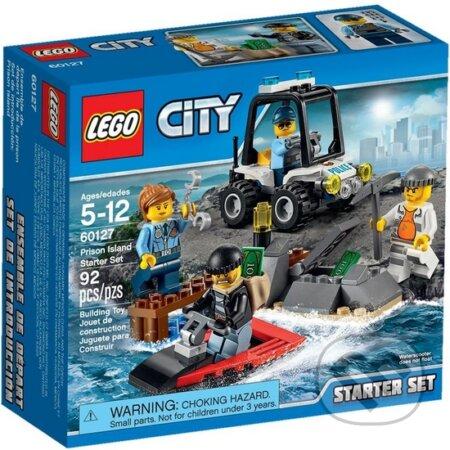 LEGO City Police 60127 Väzení na ostrove - Štartovacia súprava -