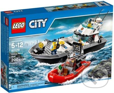 LEGO City Police 60129 Policajná hliadková loď -