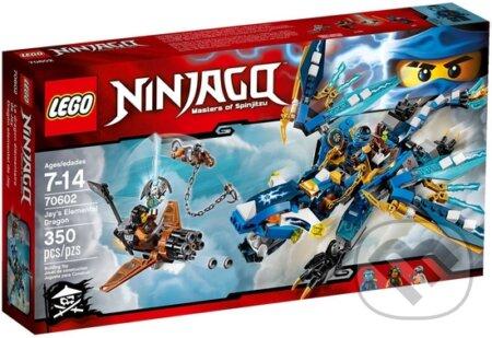 LEGO Ninjago 70602 Jayov drak blesku -
